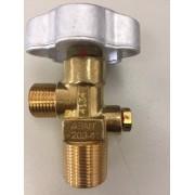 Válvula topo p/ cilindro CO2 3/4