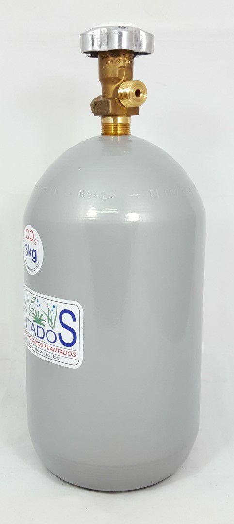 Cilindro de CO2 aço carbono 3kg
