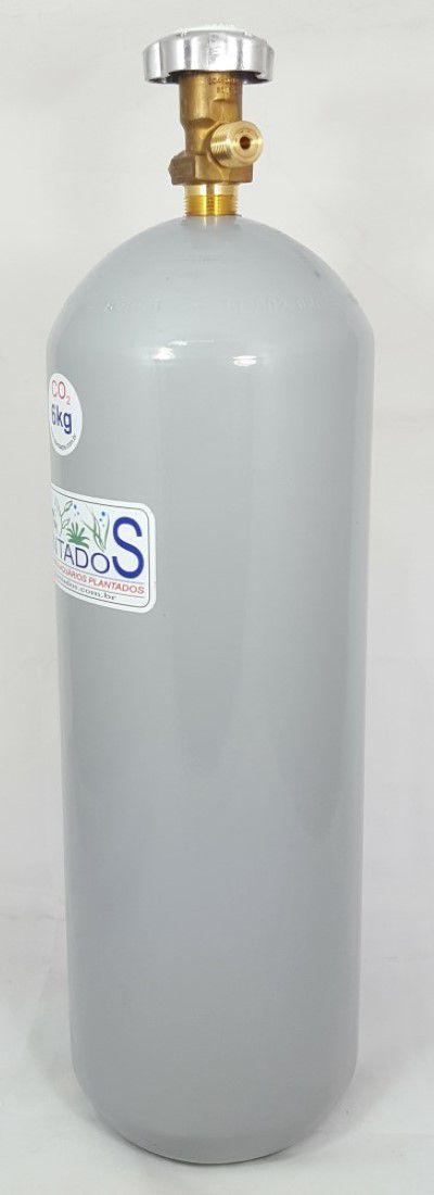 Cilindro de CO2 aço carbono 6kg