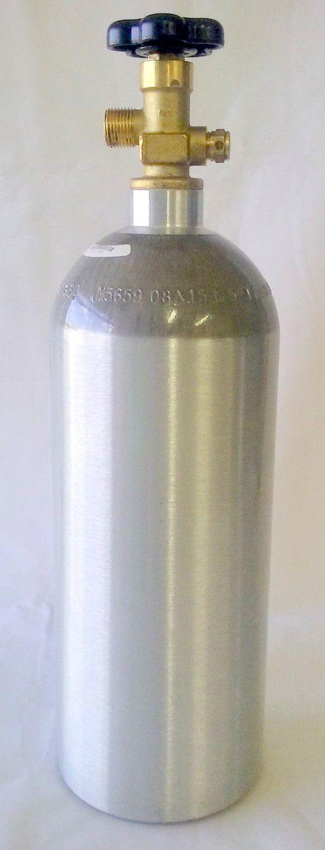 Cilindro de CO2 alumínio 2,3Kg
