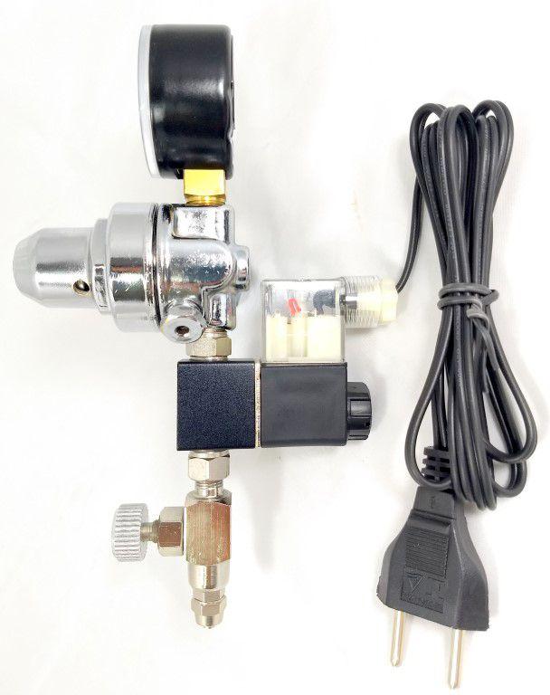 Kit p/ cilindro de CO2 com 1 saída p/ aquário