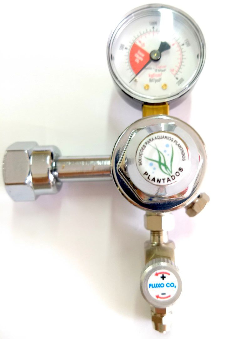 Kit p/ cilindro de CO2 com regulador e ajuste fino