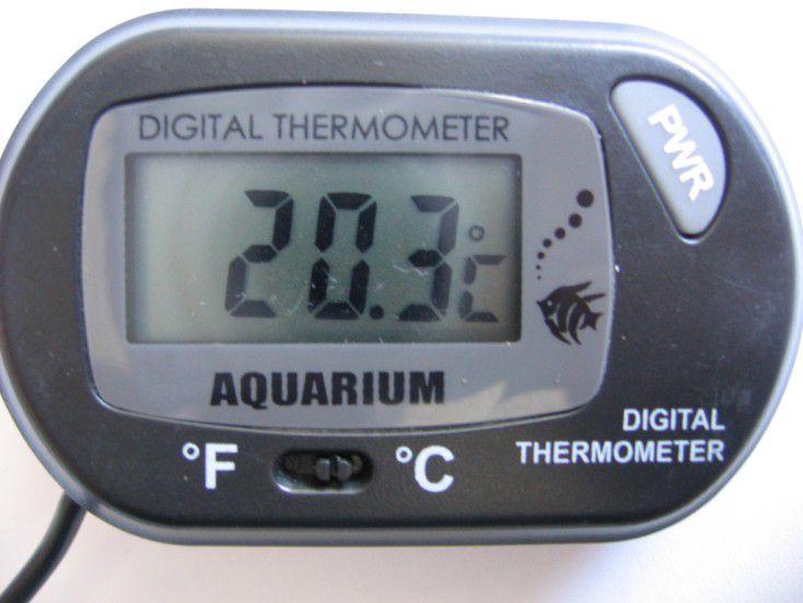 Termômetro digital p/ aquário