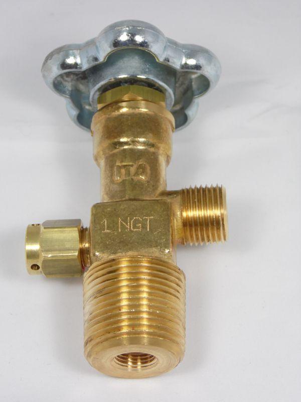 Válvula topo p/ cilindro CO2 1'' x 1/2''