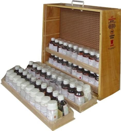 Kit com 80 reagentes