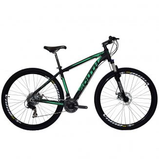 Bicicleta South Legend 2018 Shimano - 24 Marchas - Suspensão 100mm - Aluminio