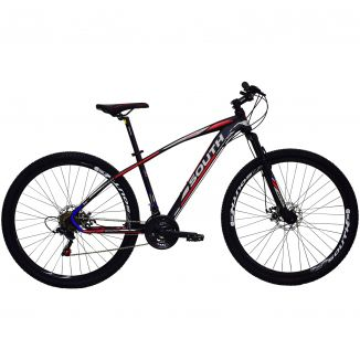 Bicicleta South Odyssey - 21 Marchas - Aro 29 - Freios á disco - Câmbio Shimano