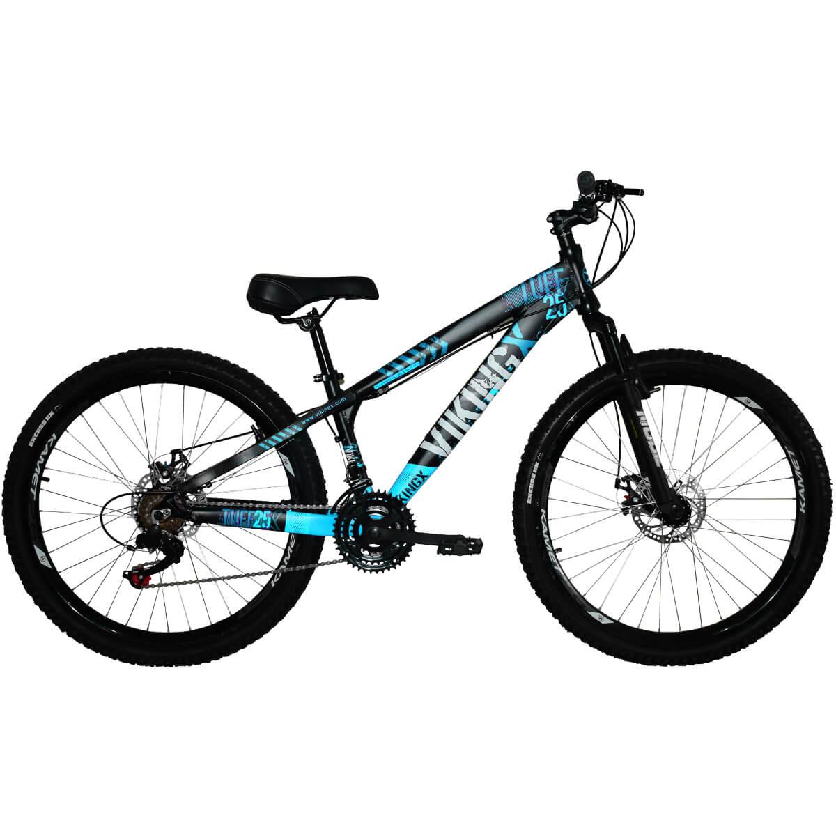 Bicicleta Freeride Viking X aro 26 Freios a Disco