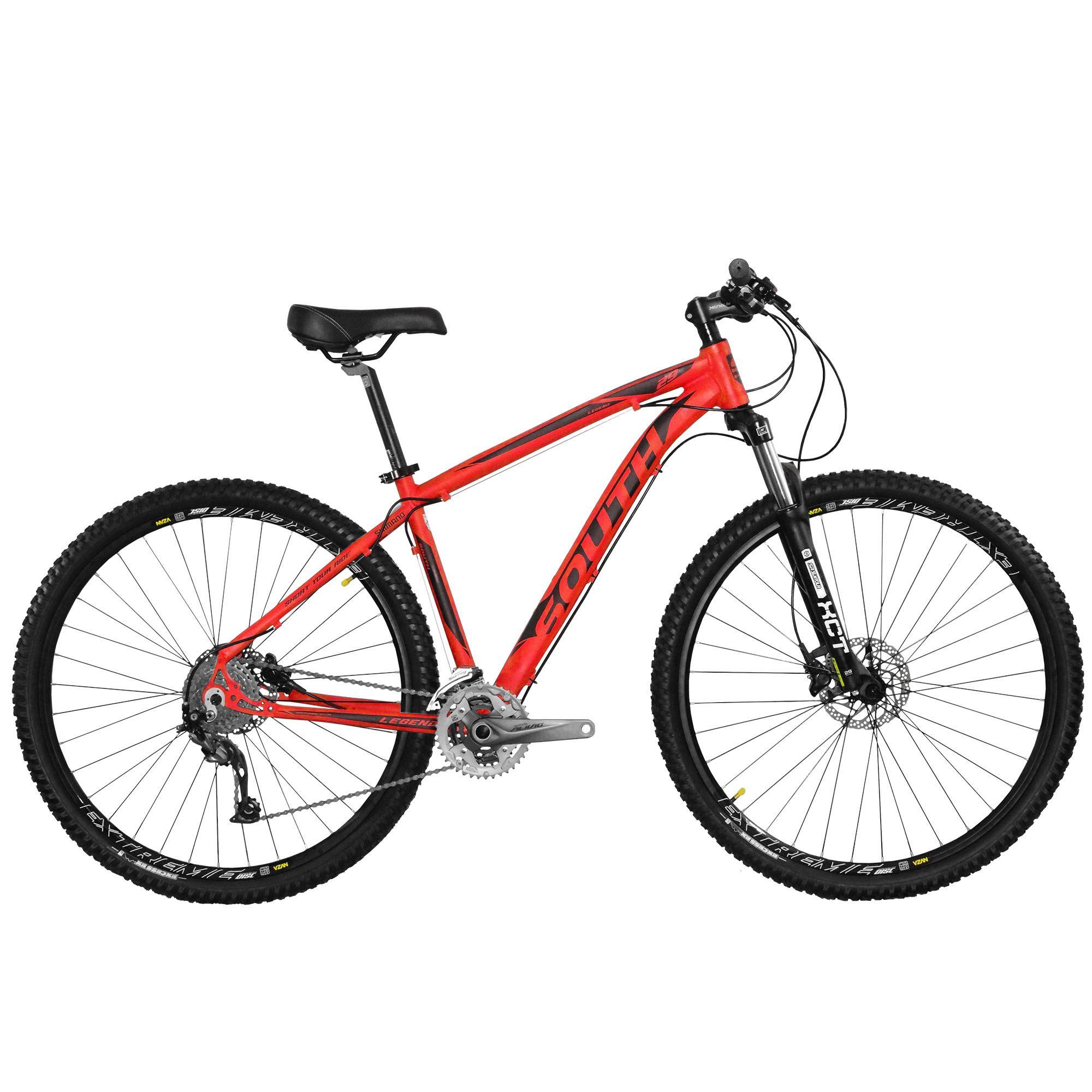 Bicicleta Legend 2018 Alivio - 27 Marchas - Hidráulica - Aro 29 - Alumínio