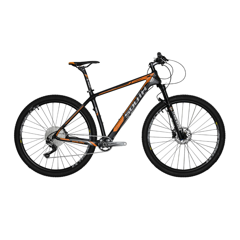 Bicicleta South Carbon 11 Marchas - Shimano SLX - Freios Hidráulicos