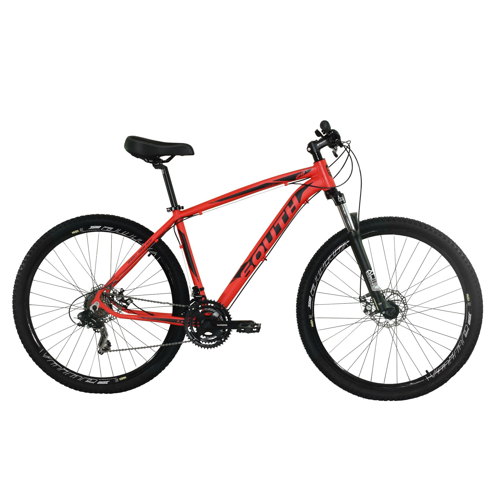 Bicicleta South Legend 2018 - 21 Marchas - Shimano - Suspensão 100mm - Aluminio