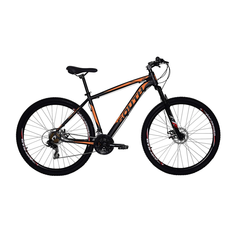 Bicicleta South Legend - 24 Marchas - Aro 29 - Câmbio Shimano - Freios á disco