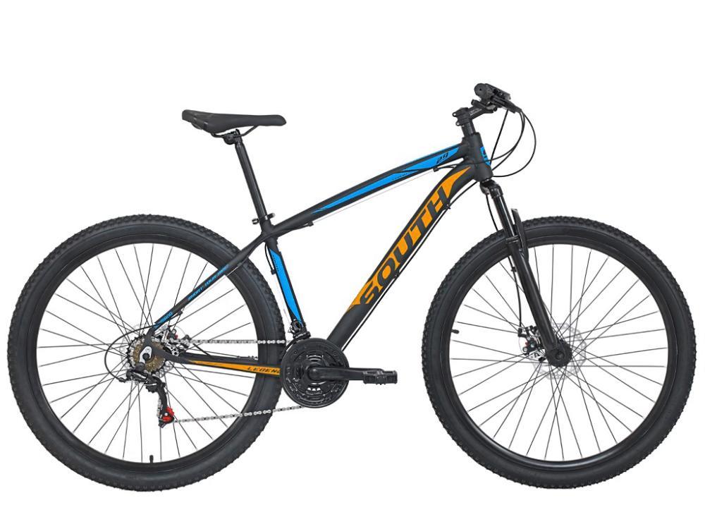 Bicicleta South Legend - 21 Marchas - Aro 29 - Câmbio Shimano - Freios á disco