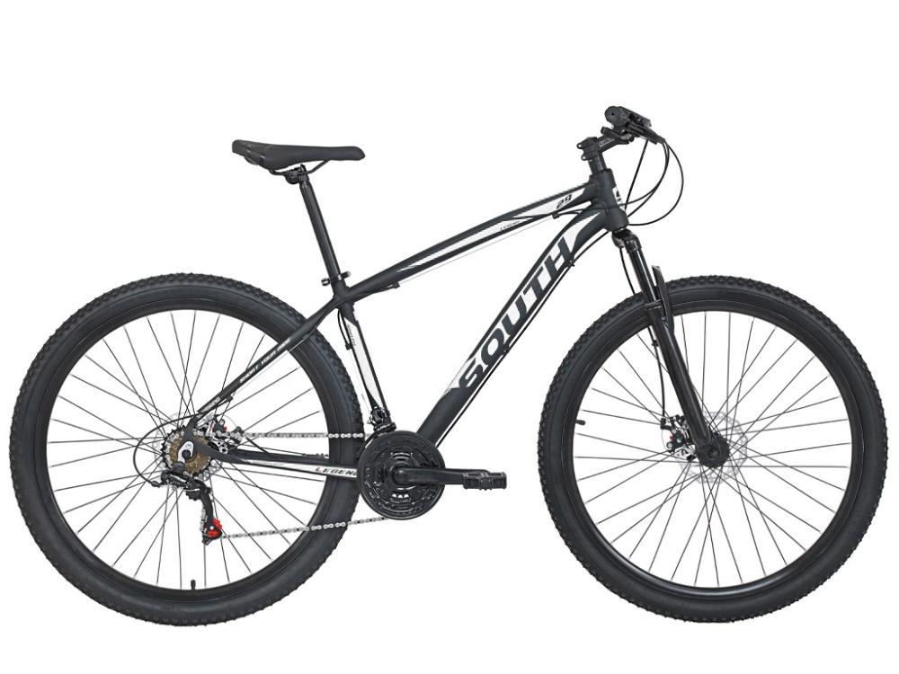 Bicicleta South Legend Aro 29 Alumínio Freios a Disco Câmbio Shimano 24 marchas