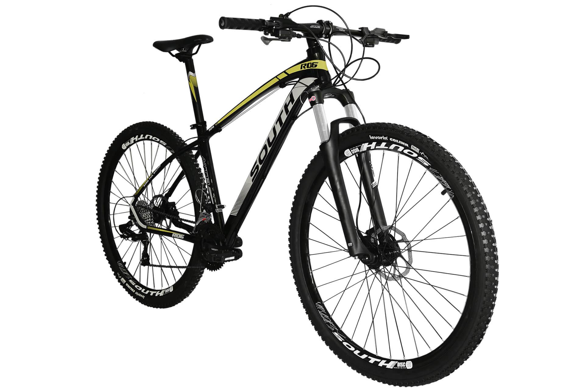 Bicicleta South New R06 24 Marchas - Freios Hidráulicos - Suspensão com Trava - Alumínio