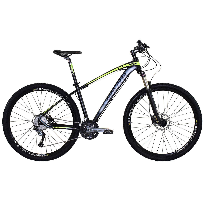 Bicicleta South New R06 27 Marchas - Freios Hidráulicos - Acera/Altus - Aluminio