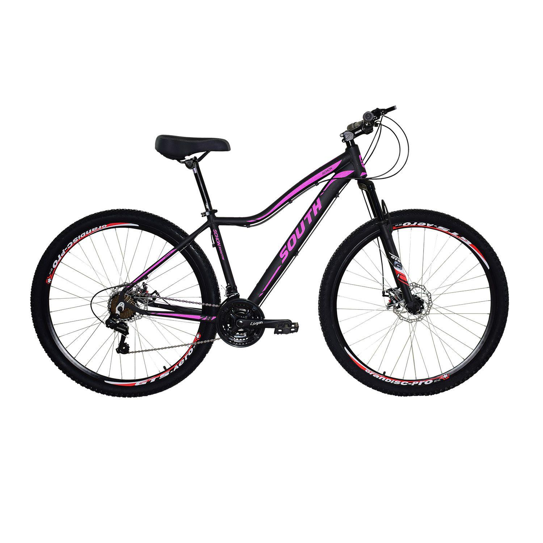 Bicicleta South Schon - 21 Marchas - Aro 29 - Câmbio Shimano - Freios á disco