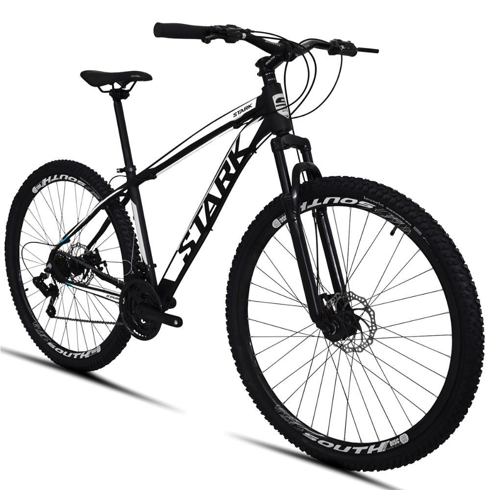 Bicicleta South Stark 2021 Aro 29 21 Marchas Câmbio Shimano Freios a Disco Suspensão Dianteira