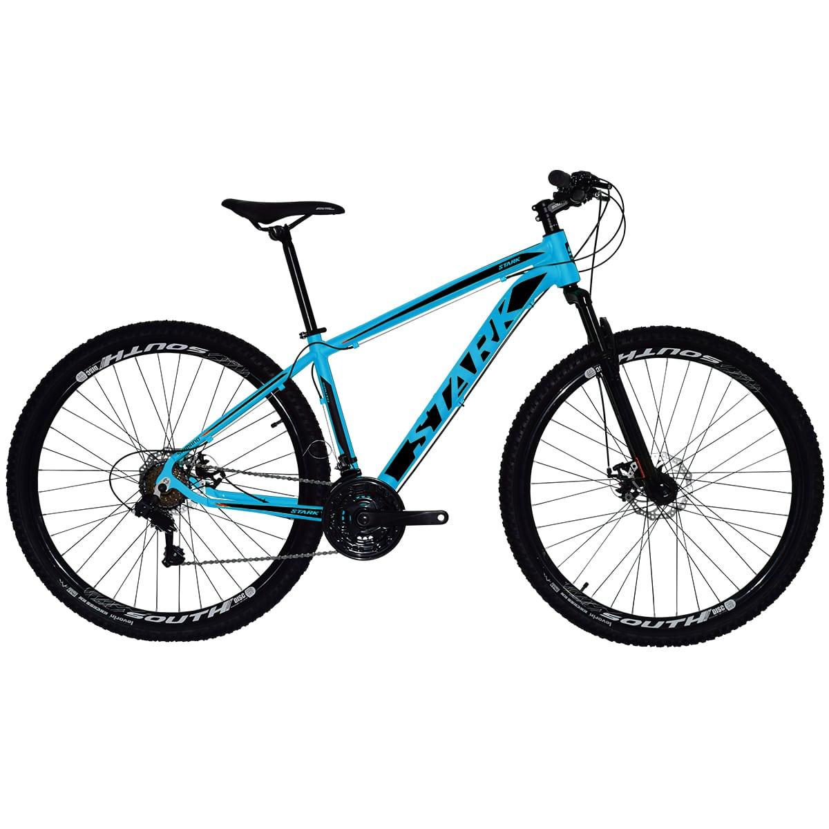 Bicicleta South Stark 2021 - Aro 29 - 21 Marchas - Freios a Disco - Suspensão Dianteira