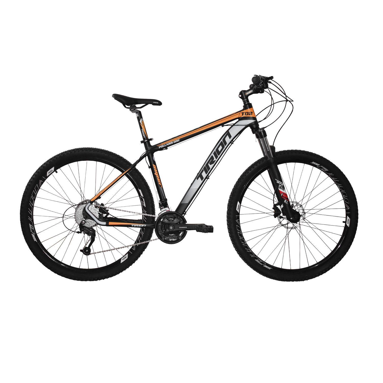 Bicicleta Tirion - Freios Hidráulicos - Altus 27 Marchas - Trava no Guidão
