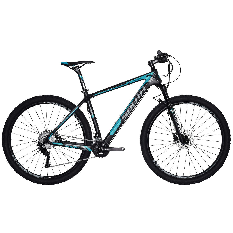 Bicicleta South Carbon 20 Marchas - Shimano Deore - Freios Hidráulicos