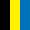 Preto/Amarelo/Azul