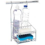 Porta DetergenteSabãoEsponja Inox