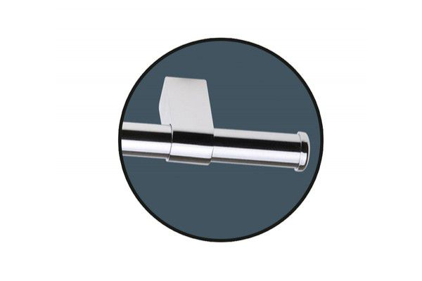 Barra Tubular 60 Cm C 6 Ganchos