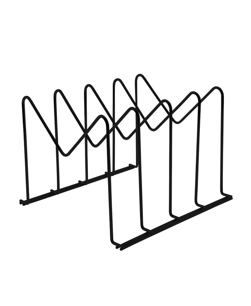 Organizador Para Formas e Travessas  Preto