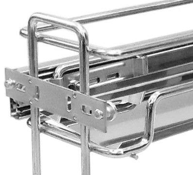 Porta LatasOleo Premium 3366  Aço Inox