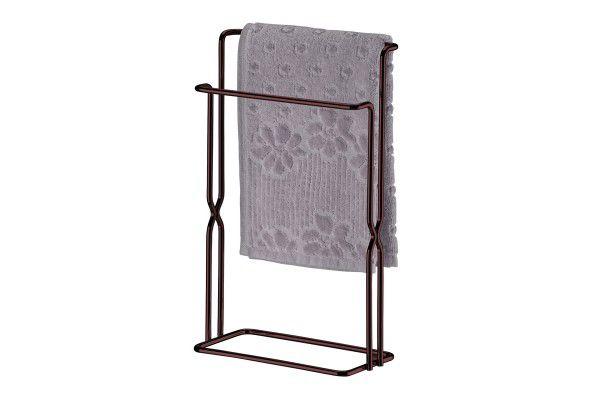 Porta Toalha De Bancada  Bronze