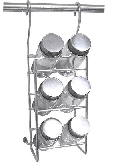 Porta Utensilios Duplo  Aço Inox