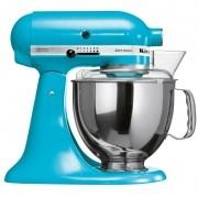 Batedeira Stand Mixer Artisan Crystal Blue KitchenAid - KEA33CW - 127V