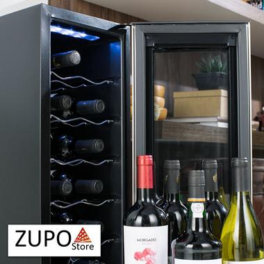 Adega de Vinhos Climatizada Electrolux para 12 Garrafas - ACS12 - 127V