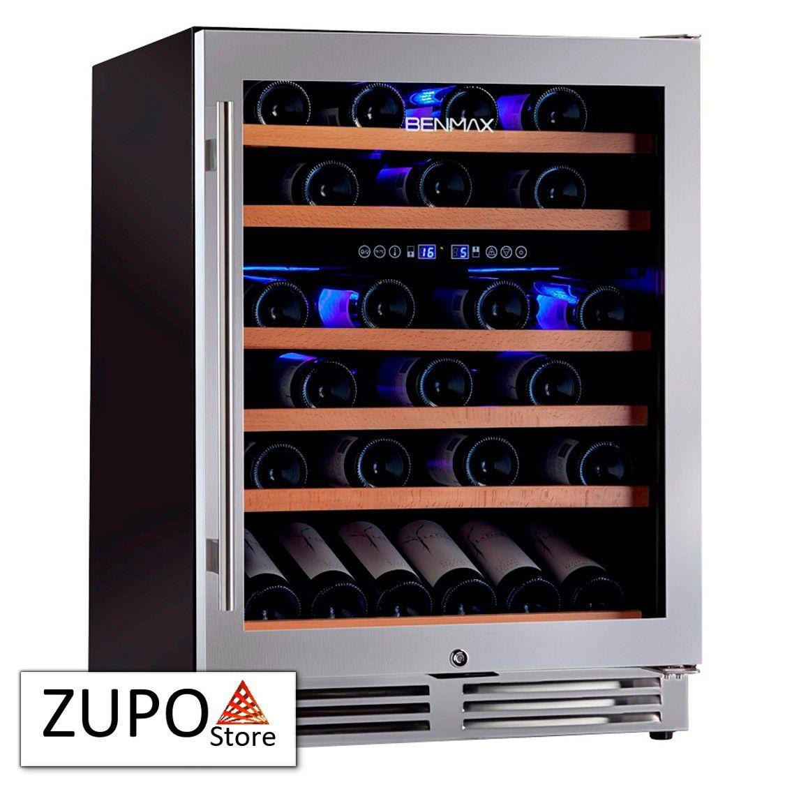 Adega de Vinhos Climatizada para 51 Garrafas de Vinho com Temperatura Dual Zone Benmax - BAC51 - 127V