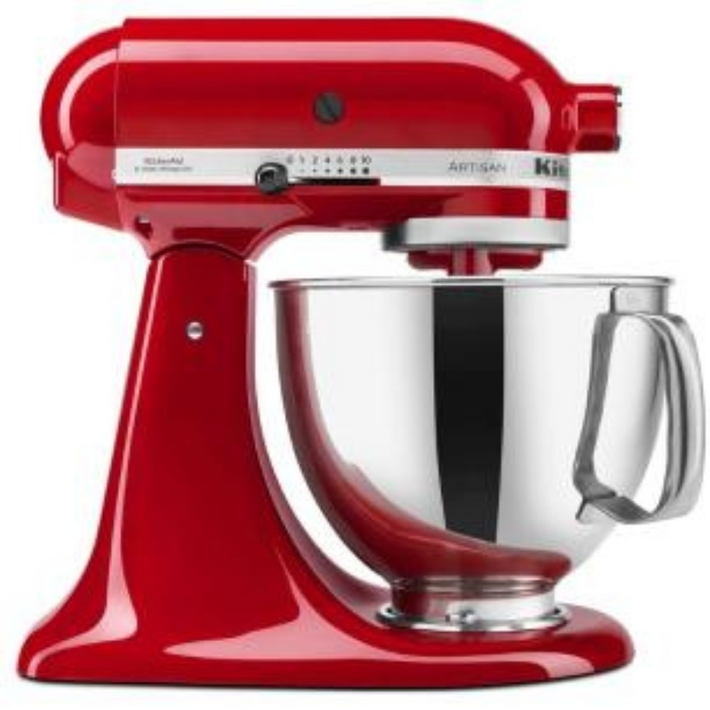 Batedeira Stand Mixer Artisan Empire Red KitchenAid - KEA33CV - 127V