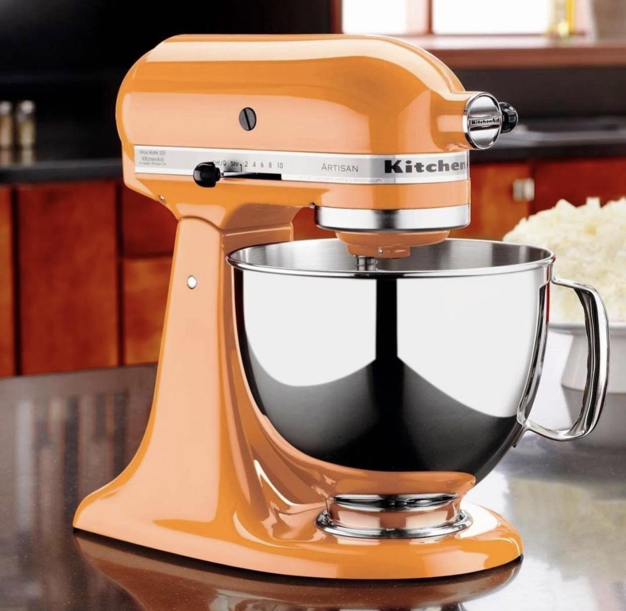 Batedeira Stand Mixer Artisan Tangerine KitchenAid - KEA33C8 - 127V