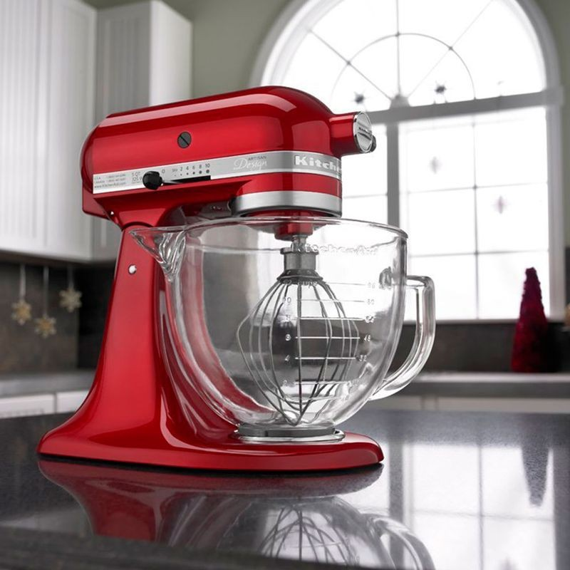 Batedeira Stand Mixer Planetária Candy Apple KitchenAid - KED33A3 - 127V