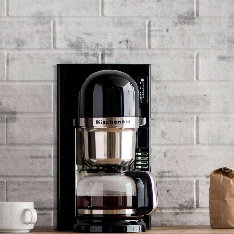 Cafeteira Automática One Touch Onyx Black KitchenAid - KXA42AE - 127V