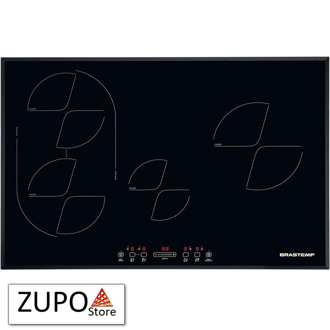 Cooktop de Indução 4 Zonas - BDJ77AE - Brastemp - 220V