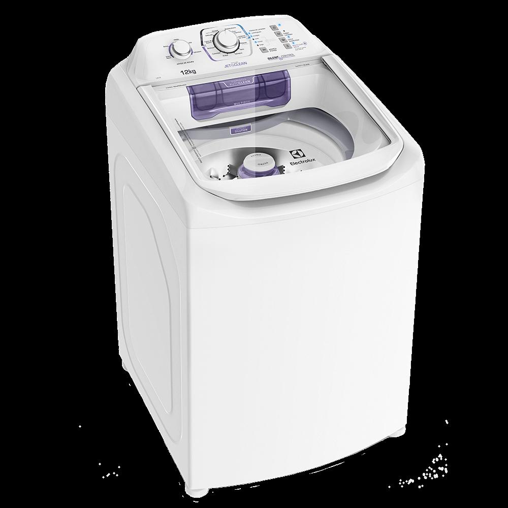 Lavadora de Roupas 12 Kilos Branca Electrolux - LAC12 - 127V