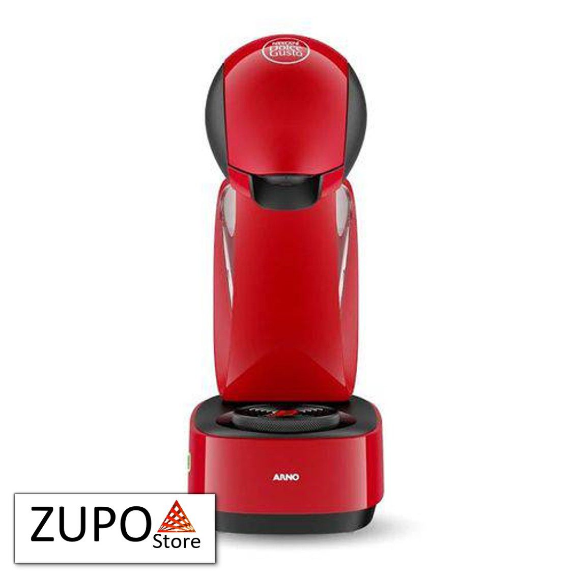 Máquina de Café Expresso e Multibebidas Dolce Gusto Infinissima Vermelha - 127V