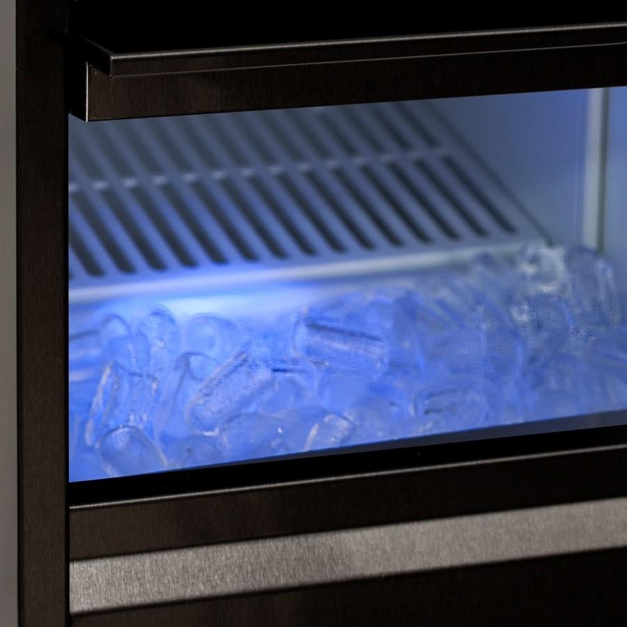 Máquina de Gelo Super Ice MAC Benmax 50/13Kg Black - 220V