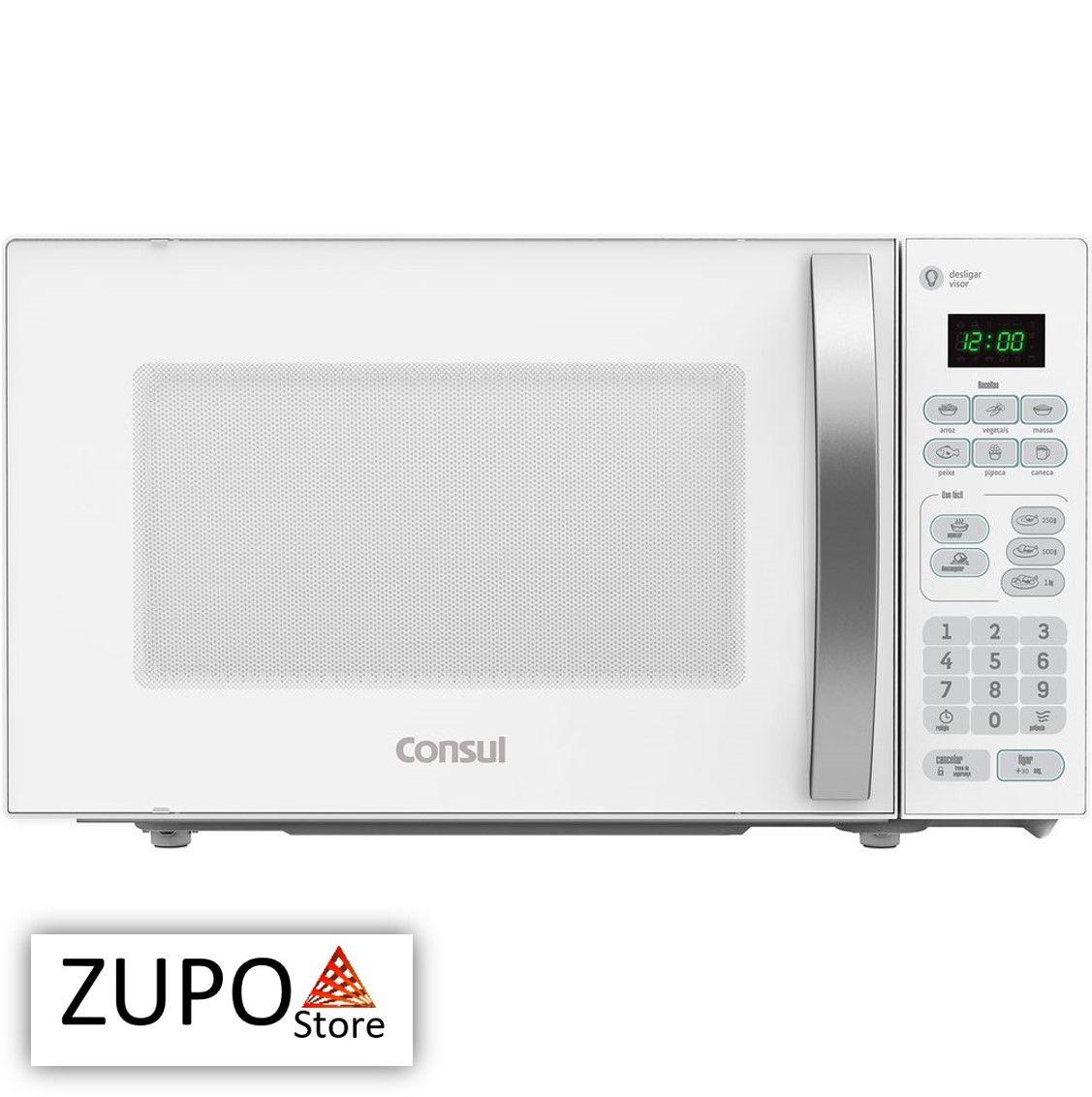 Micro-ondas 20 Litros Branco Consul - CMA20BB - 127V