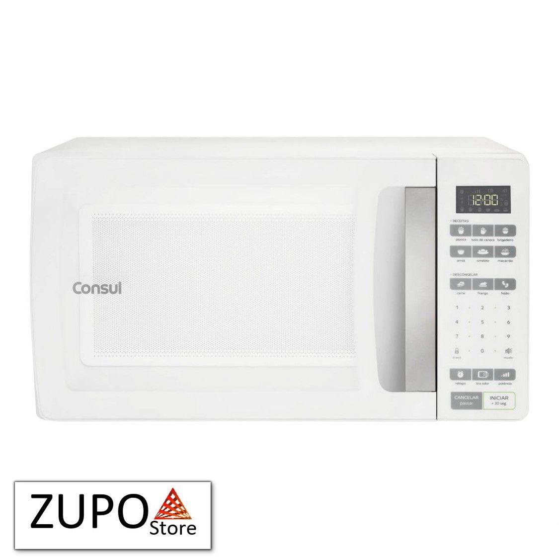 Micro-ondas 32 Litros Branco Consul - CMS45AB - 127V
