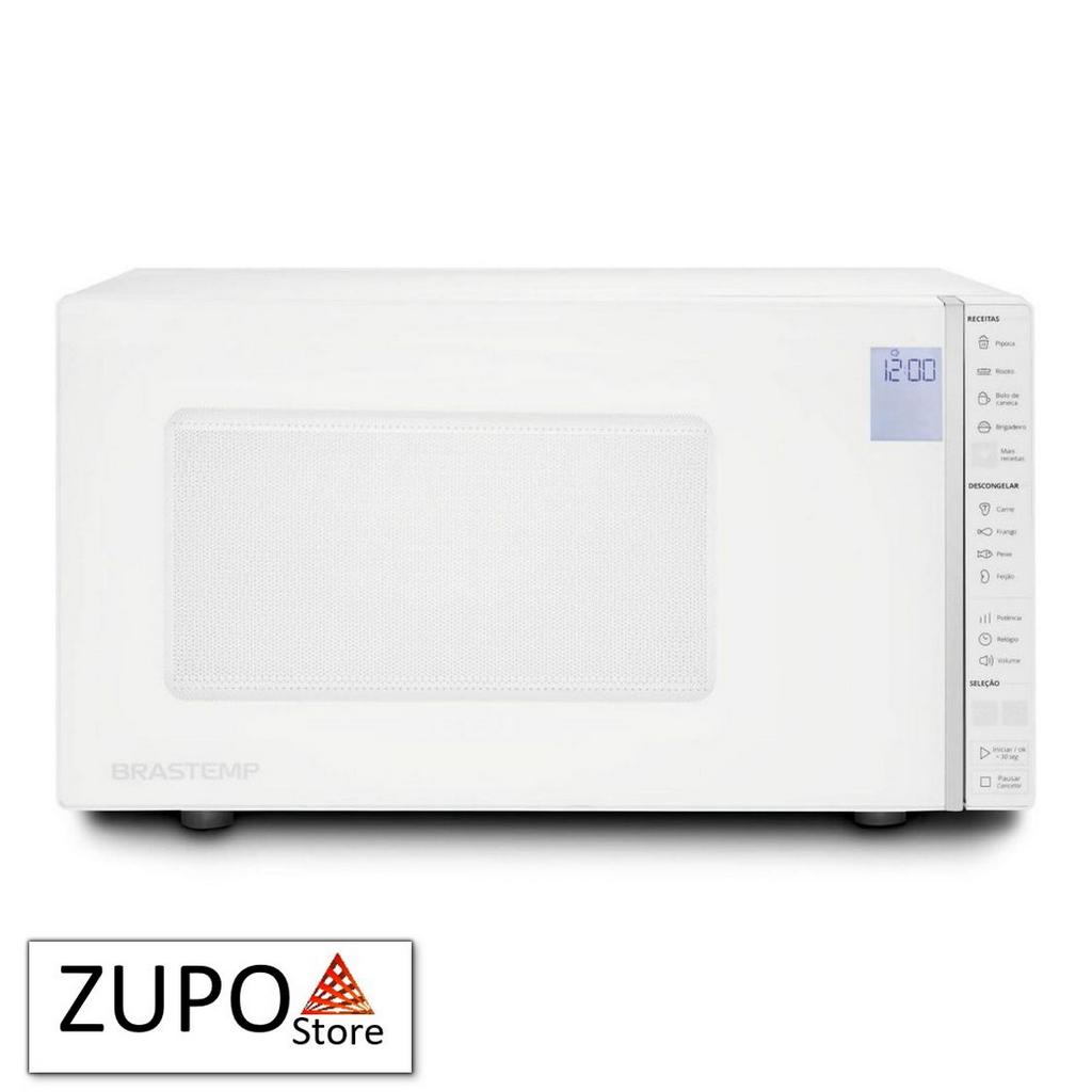 Micro-ondas Brastemp Branco 32 Litros - BMS45CB - 127V