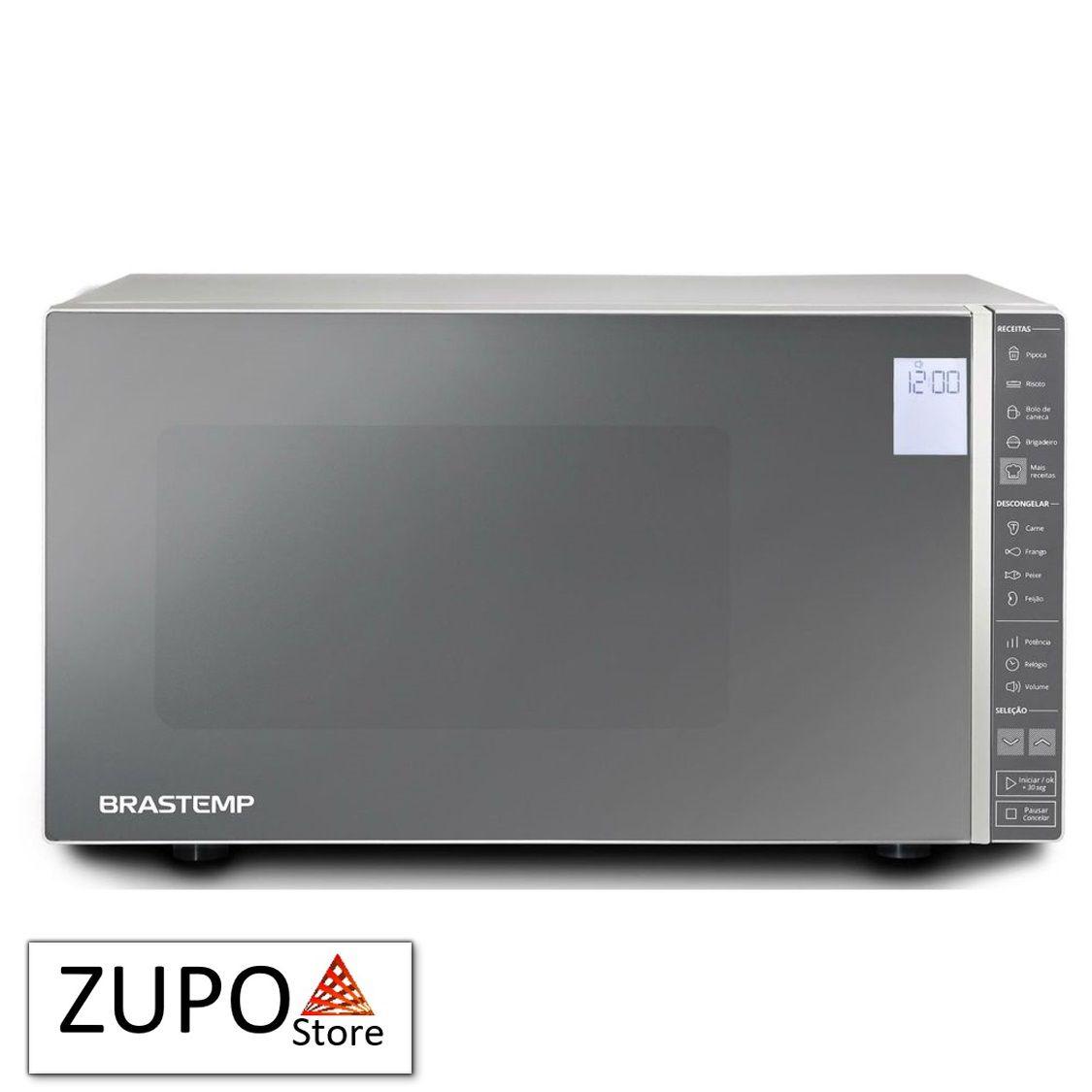 Micro-ondas Brastemp Inox 32 Litros - BMS45CR - 127V