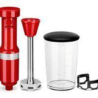 Mixer de Mão KitchenAid Empire Red KEB53 com Velocidade Variável - 127V