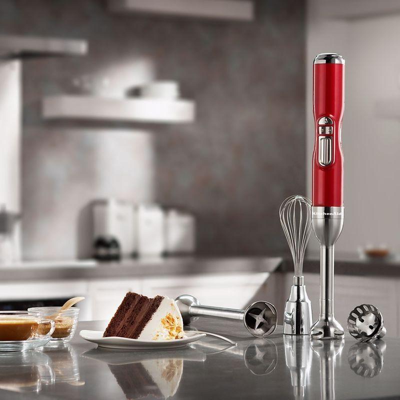 Mixer de Mão Sem Fio Proline Candy Apple KitchenAid - 127V