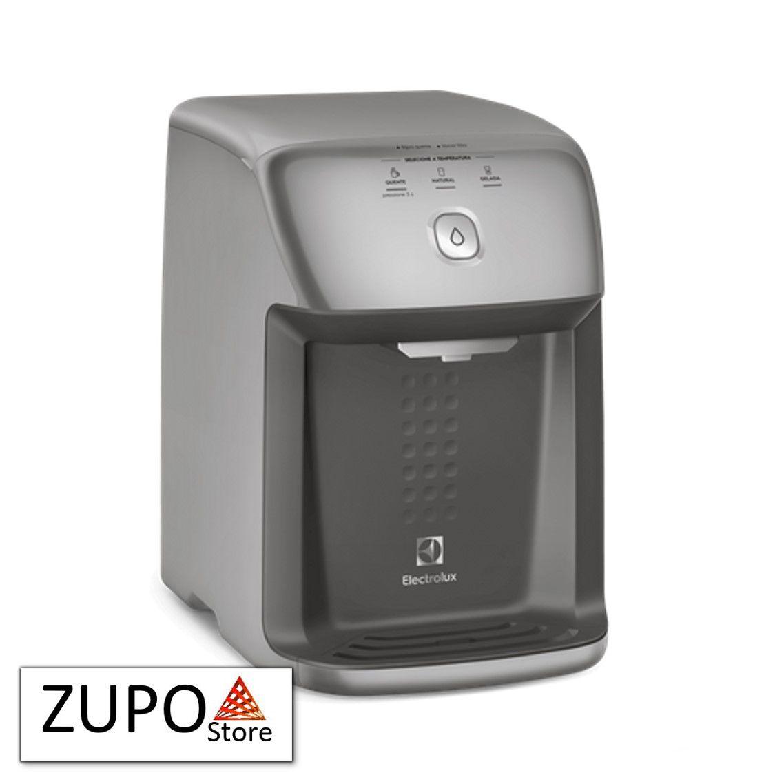 Purificador de Água Electrolux PH41X Cinza Refrigeração por Compressor e Água Quente - 127V